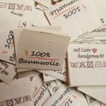 Textiletiketten NaturBaumwolle, Ökto-Tex, nachhaltig