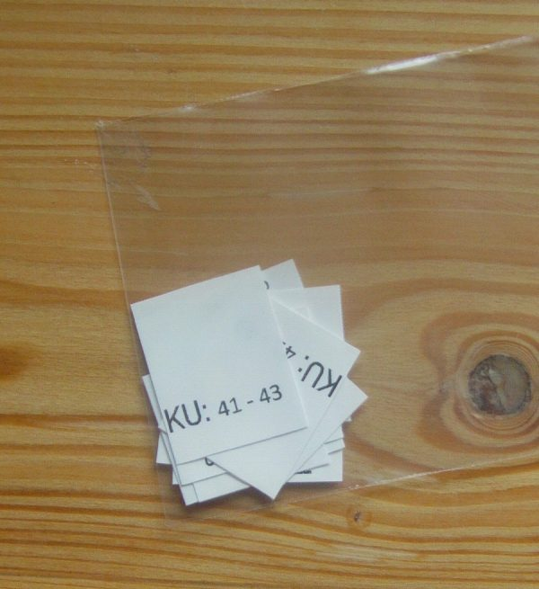 KU: 41 - 43 Kopfumfang-etiketten
