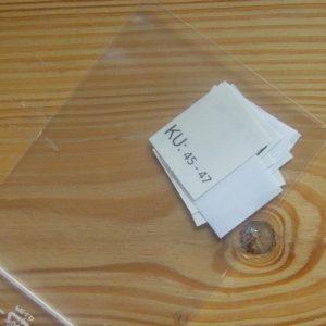 KU: 45 - 47 Kopfumfang-etiketten