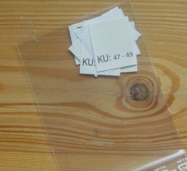 KU: 47 - 49 Kopfumfang-etiketten