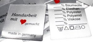 Textil-Label Einnäher TextilEtiketten