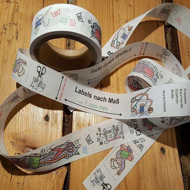 Textiletiketten Individuell Labels