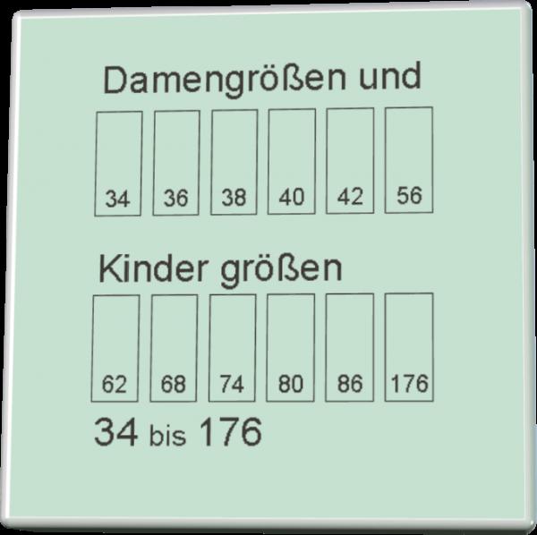 DOB Größen und Kindergrößen