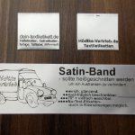 Satinband weiss SB-WS für Textiletiketten mit eigenem Logo